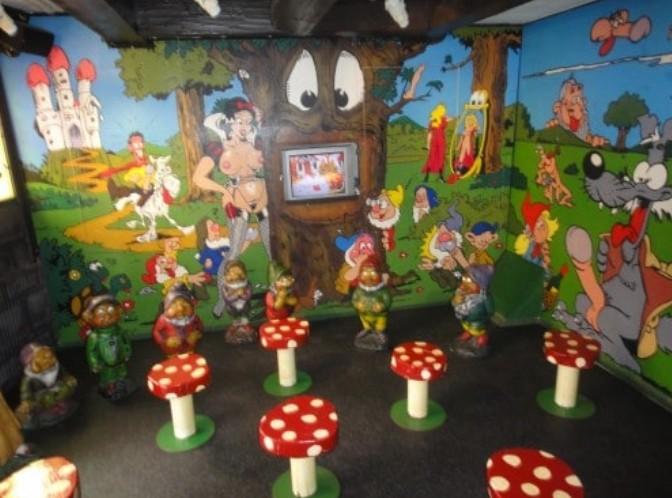 Interior do Museu do Sexo em Amsterdam