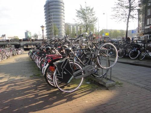 Estacionamento de bicicletas na Holanda