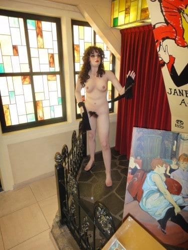Boneca no Museu do Sexo de Amsterdã