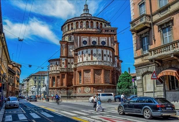 Região central de Milão