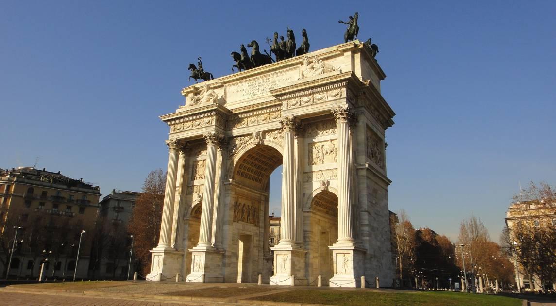 Arco da Paz de Milão