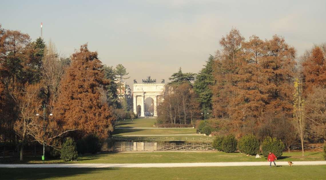 Parque Sempione, em Milão