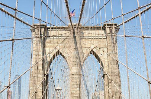 Arquitetura da Ponte do Brooklyn