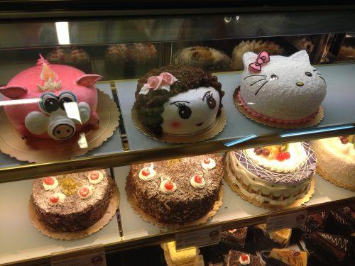 Doceria com bolos artesanais orientais