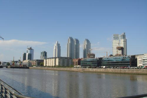Vista do Puerto Madero