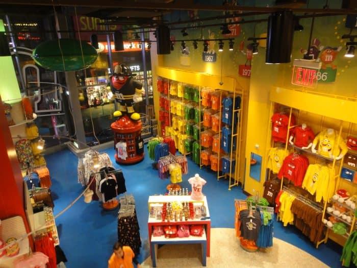 Loja da M&M's em Nova York