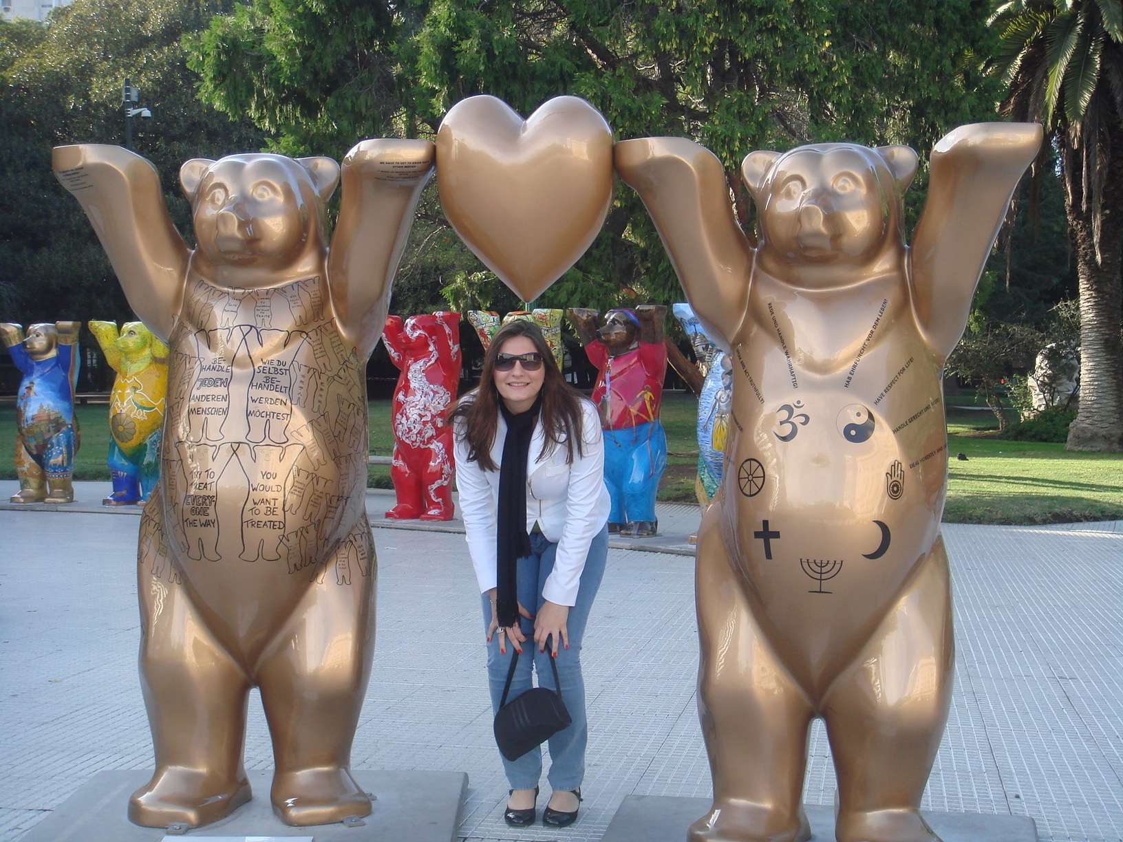United Buddy Bears em Buenos Aires