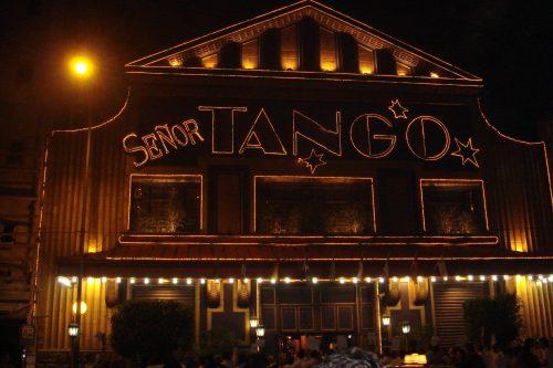 Entrada do Señor Tango