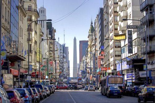 Como é o centro de Buenos Aires