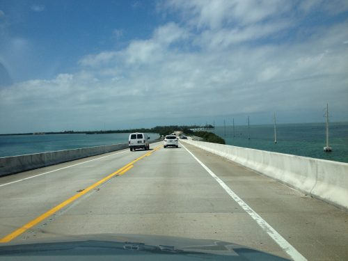 Como é a estrada para Key West