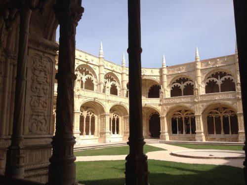 Arquitetura interna do Mosteiro dos Jerônimos