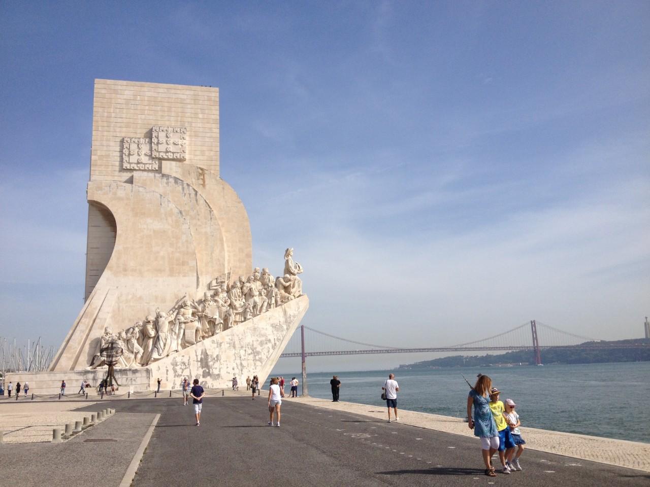 Lisboa no inverno: Padrão do Descobrimento