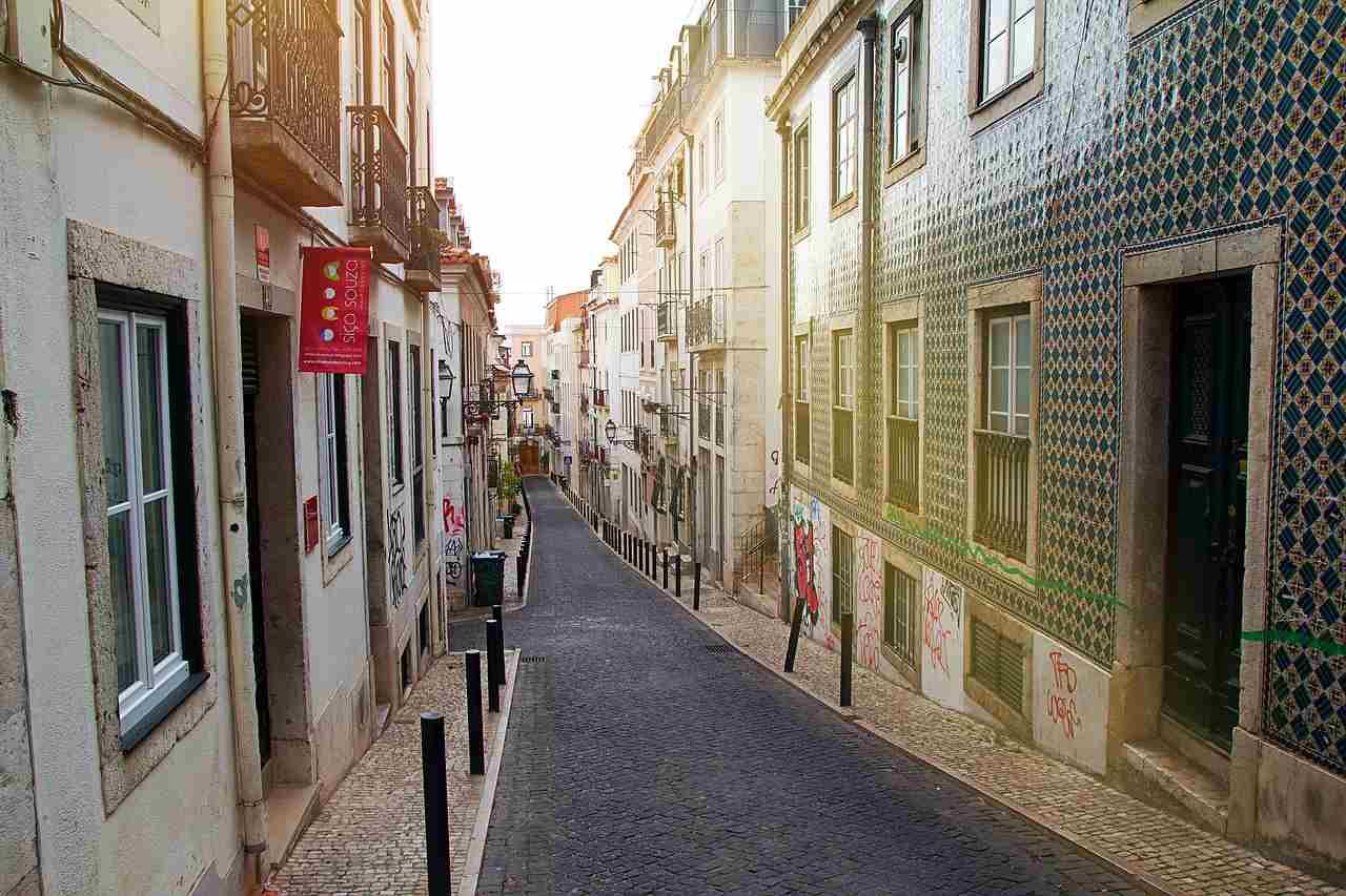 Casbres do Bairro Alto, em Lisboa