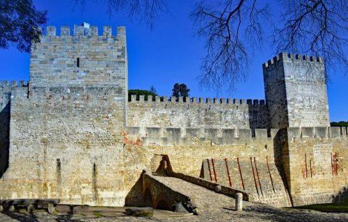 Ruínas do Castelos de São Jorge
