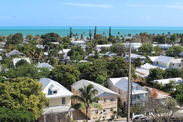 Vista panorâmica de Key West