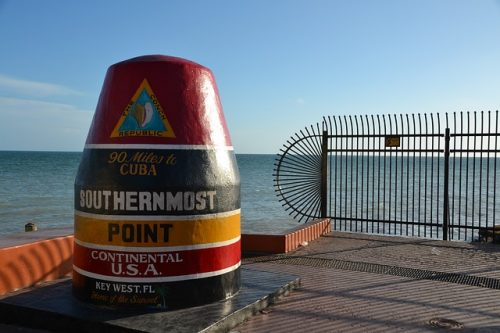 Southermost point, em Key West