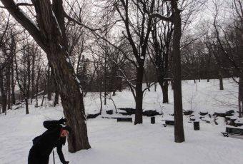 Viajar no frio: machucados horríveis que me causou