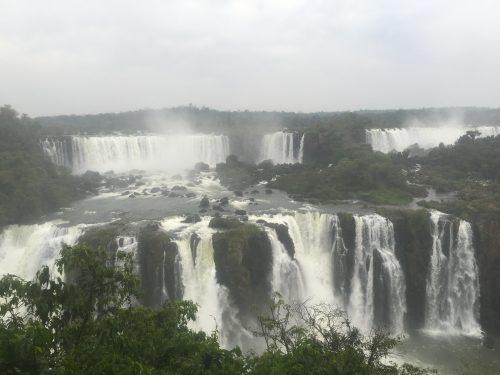 Cataratas de Foz do Iguaçu no Brasil