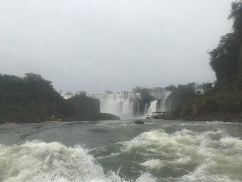 Barco para as Cataratas de Foz do Iguaçu
