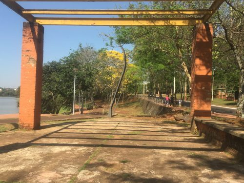 Área com vegetação na Ciudad Del Este