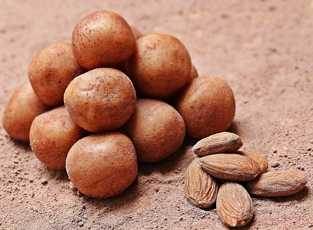 Marzipan: as amendoas fazem parte dos marzipans