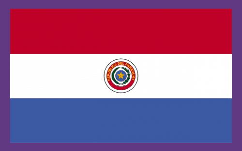 Imagem da Bandeira do Paraguai