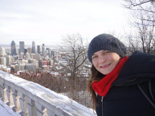 Parque do Mont Royal e vista para Montreal