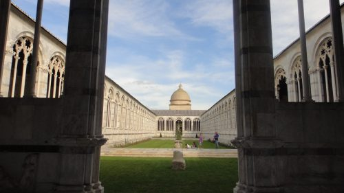Cemitério Camposanto Monumentale em Pisa