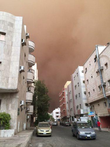 """""""Uma tempestade de areia atingiu o Líbano quando eu estava lá"""""""