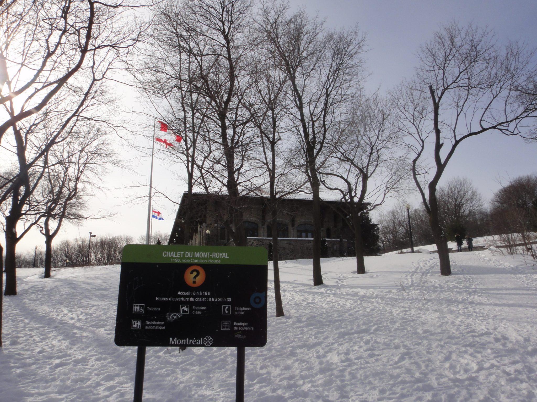 Parque Mont Royal de Montreal