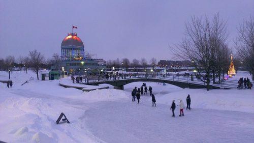 Patinação no gelo em Montreal