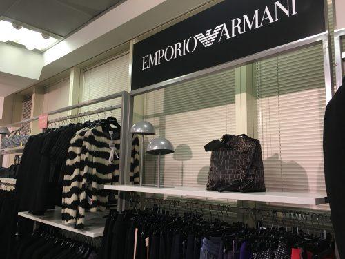 Roupas e acessórios da Empório Armani