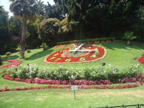 Relógio das Flores no Chile