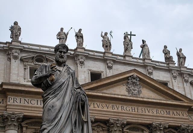 Monumentos e arquitetura em Roma