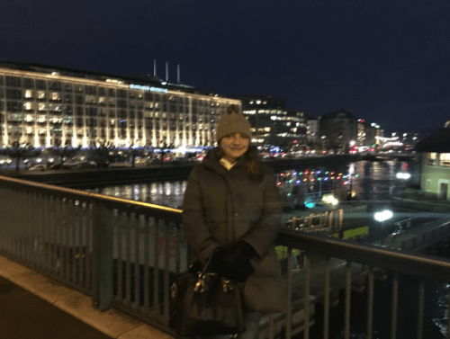 Inverno em Genebra