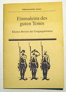 Manual de etiqueta para soldados durante a guerra