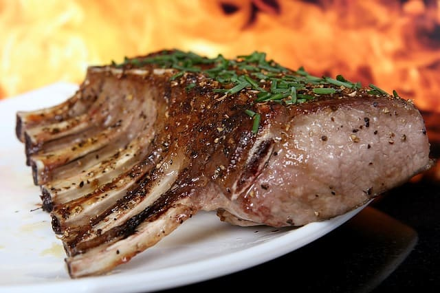 Carne temperada