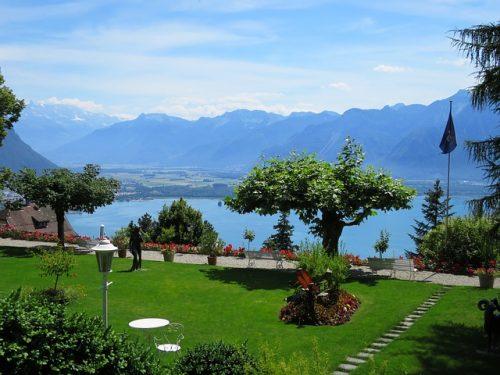Genebra no verão