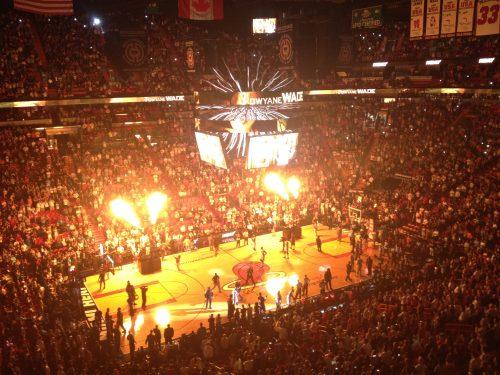 Jogo da NBA em Miami