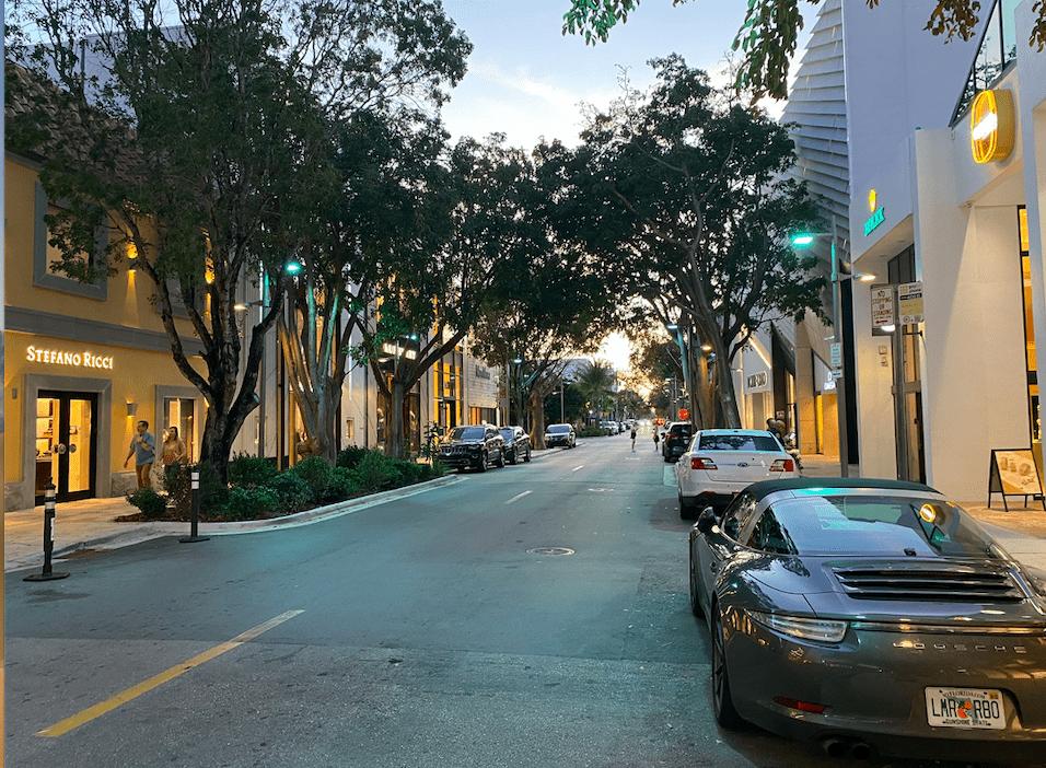 ruas do Design District