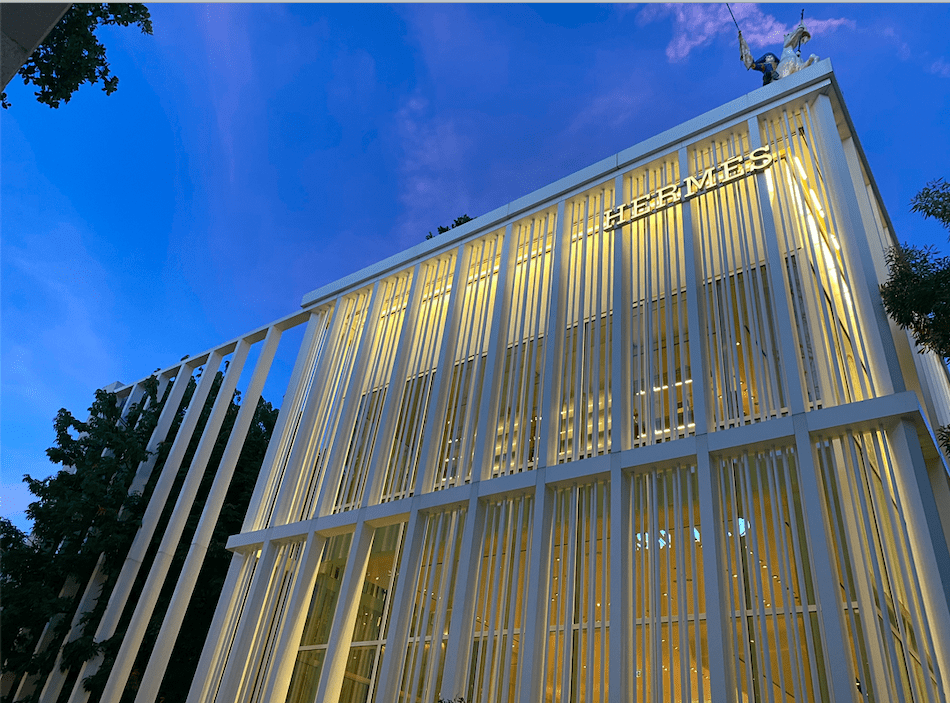 Hermès no Design District