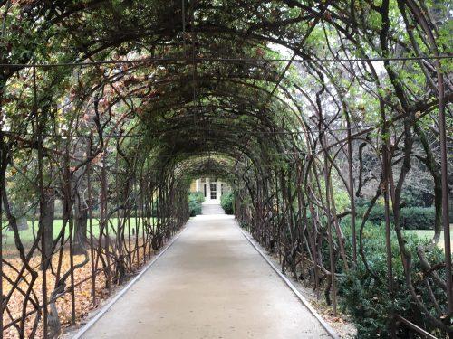 Túnel de planta na vinícola Concha Y Toro
