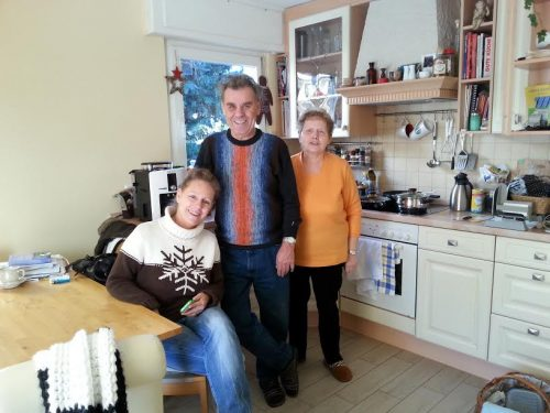 Família Kriewall na Alemanha