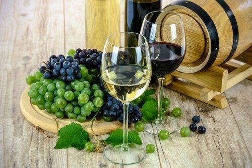 Vinho branco ou tinto