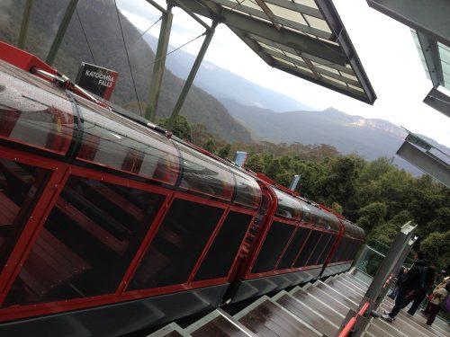 Trem Scenic Railway na Austrália