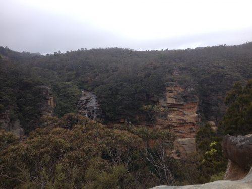 Paisagem próxima a Katoomba Falls