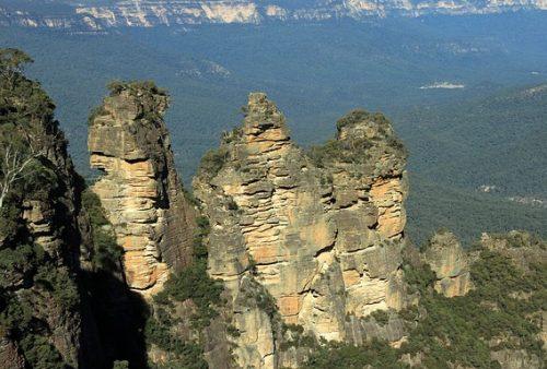Montanhas Três Irmãs, na Austrália