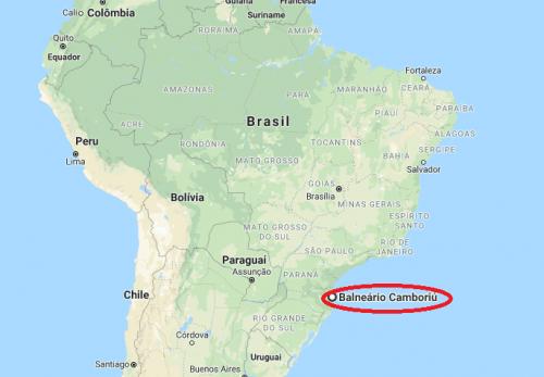 Onde fica Balneário Camboriú