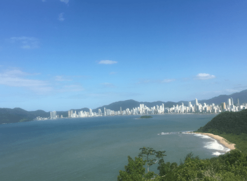 Vista do Morro do Careca