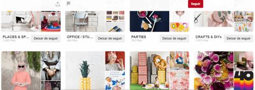Imagens de arte selecionadas no Pinterest